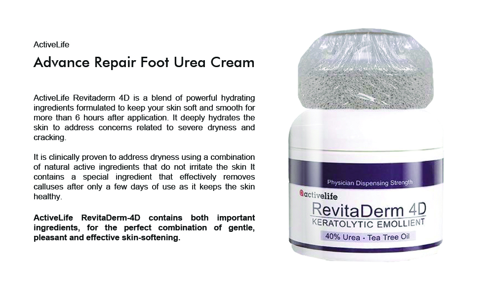 Foot Cream for Dry Cracked Feet Foot Cream for Women Free Pumice Stone for Feet Urea Foot Cream