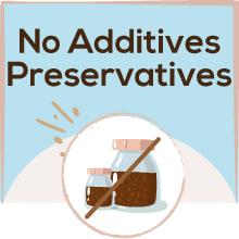 No Preservative % Additives