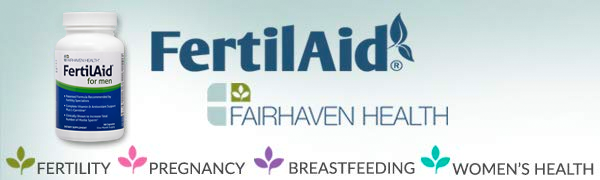 FertilAid for Men Male Fertility Supplement, Boost Sperm Count, Now with Methylfolate