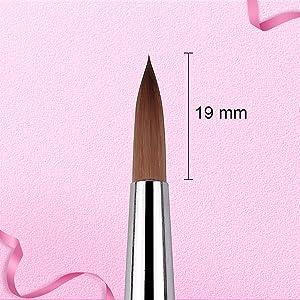 poly extension gel brush