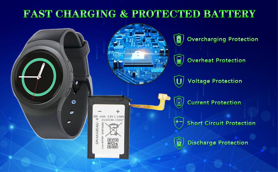 Samsung Galaxy Gear S2 R735 Battery