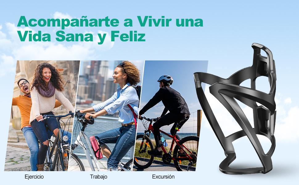 Negro Soporte Botella Bicicleta Monta/ña Portabotellas Liviano para Bicicletas Ideal para Bicicleta de Carretera Bicicleta para Ni/ños N//F CYJZHEU Portabotellas Bicicletas Aluminio