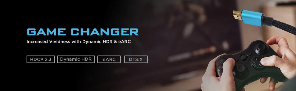 COPPER 8K ULTRA HD HDMI 2.1 XENOS W31 HDCP 2.3 eARC DTS:X VIVIFY