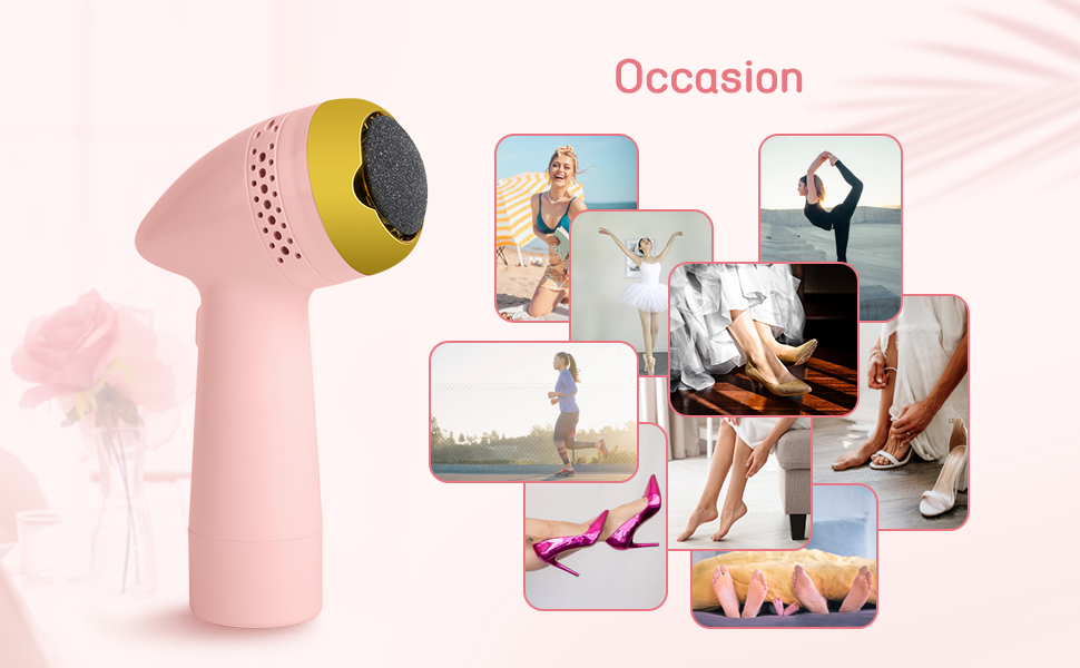 Foot File Grinder Pedicure Callus Remover For Feet Scrubber Remove Dry Hard Cracked Skin Occasions