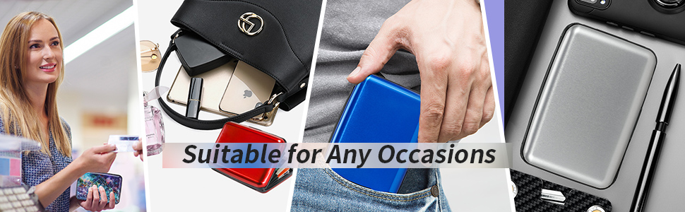 Suitable for any occasions card holder
