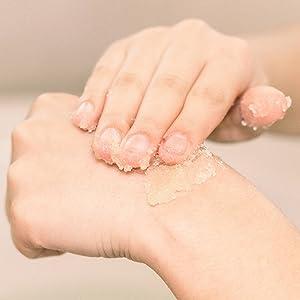 beauty by earth scrub organic body wash shower gel body soap for women sensitive skin