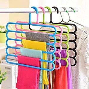 magic clothes Hanger,space saving hangers,clothes organizer,anti-skid hangers, 5 layer hanger