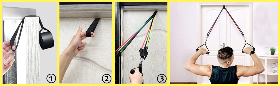 resistance bands with handle resistance bands set exercise bands