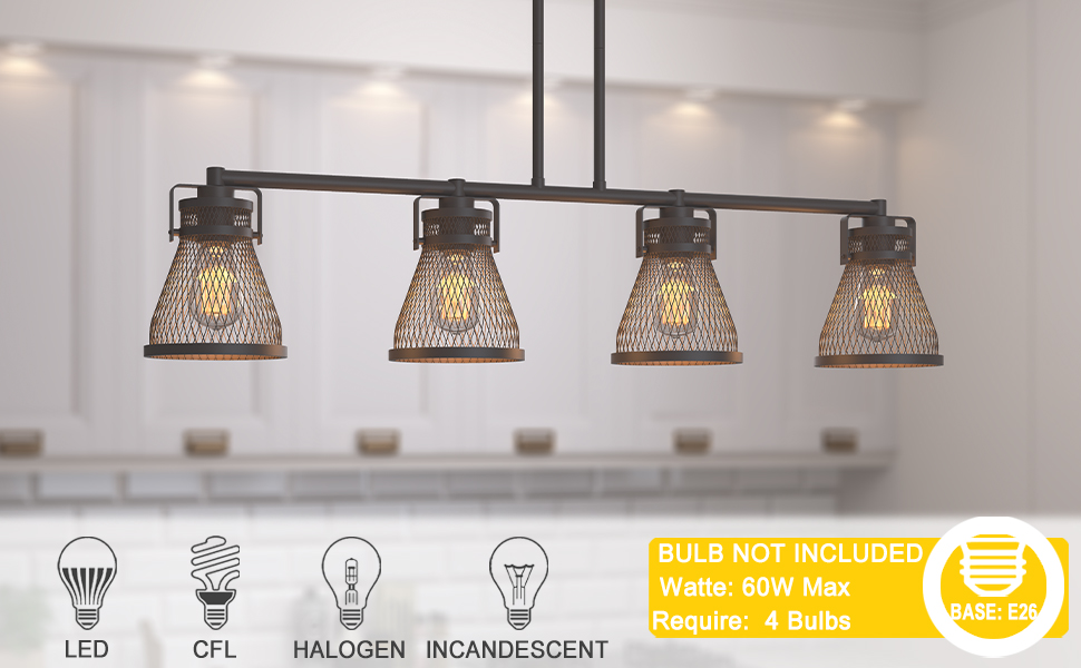 bulb not included