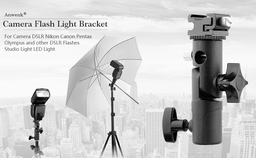 Faction Photo Metal Body Flash and Umbrella Bracket