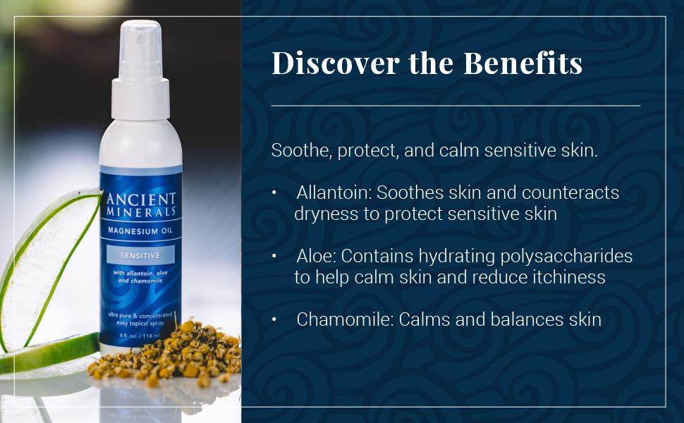 sensitive, magnesium, oil