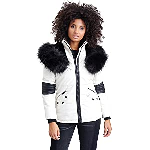 Navahoo Damen Winter Jacke Steppjacke Nirvana (vegan