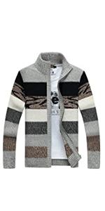 Men's Striped Pattern Sweater