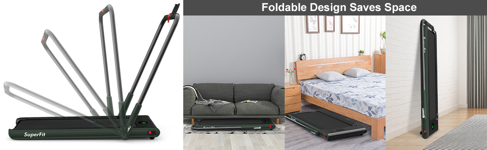 folding design easy to store