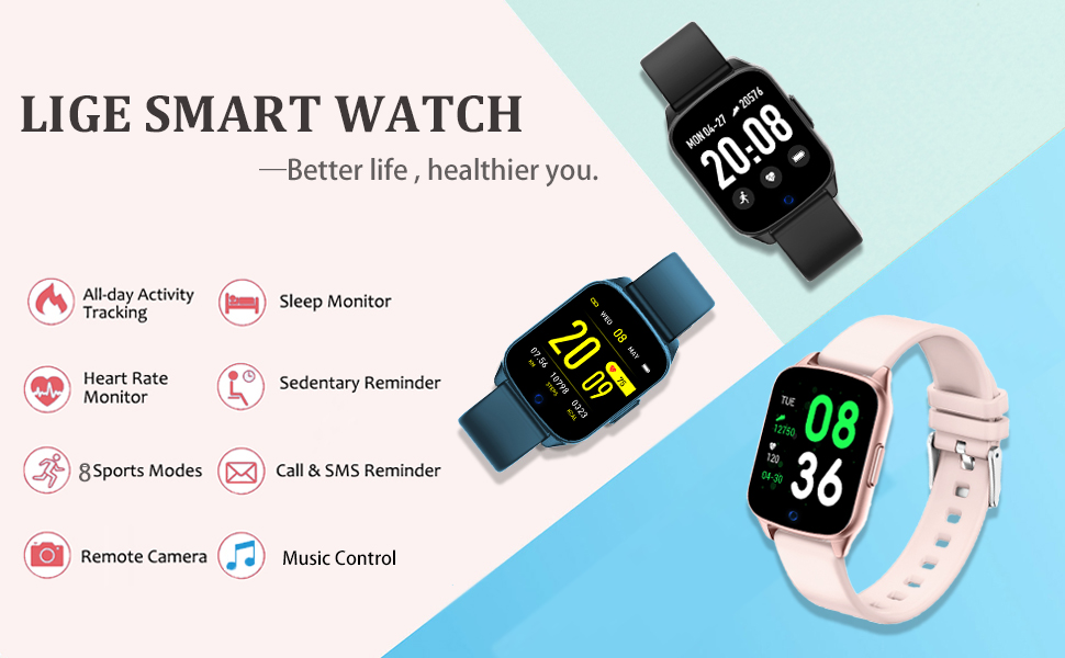 fitness watch color screen