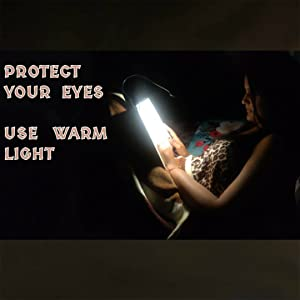 PROTECT YOUR EYES WHILE READING IN BED AT