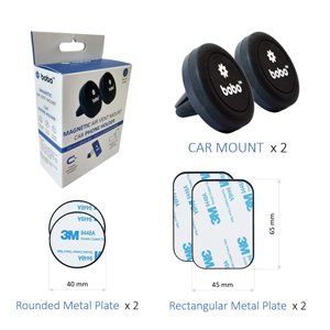 car phone holder mount magnetic air vent magnetic plates
