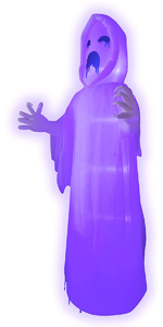 9 FT Tall Halloween Inflatable Spooky Scary Horror Ghost I