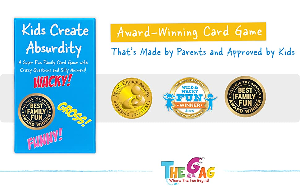 Award-Winning Card Game That's Made by Parents and Approved by Kids