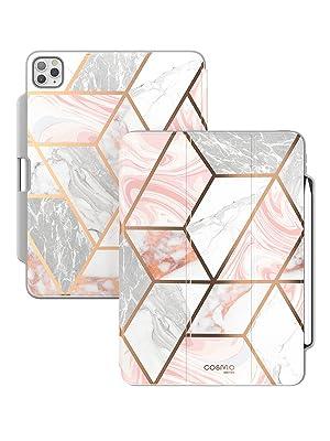 i-Blason Cosmo Stylish Case για iPad Pro 2020 11 & 12,9 ιντσών ενσωματωμένη στην υποδοχή μολύβι kickstand