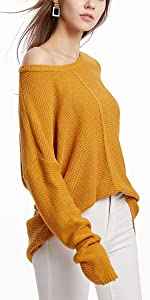 Pullover Sweater Yellow