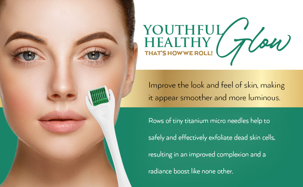youth youthful skin derma roller for face