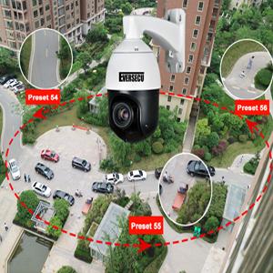 Intelligent Cruse Tracking poe ptz outdoor surveillance camera