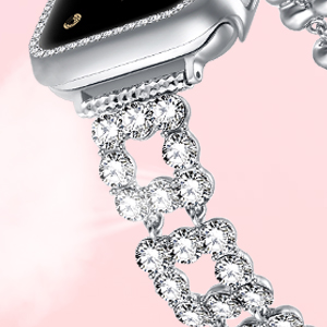 glitter band for Apple watch