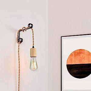 Hanging Light Plug in