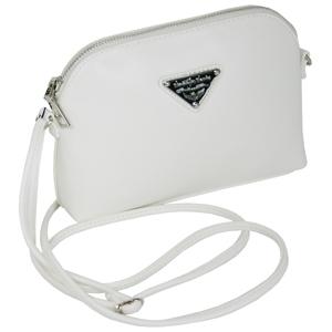 Kleine Damen Handtasche in Weiß
