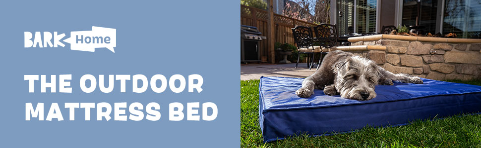 outdoor bed bark box