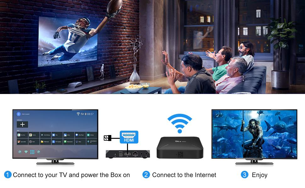 android 9.0 TX6 mini tv box