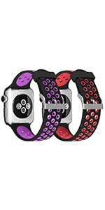 apple watch silicone band 38mm for women