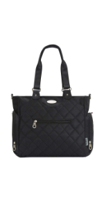 Tribeca Diaper Bag, Black