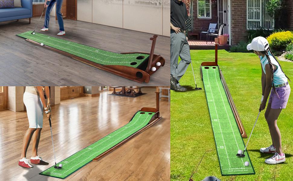 putting mat