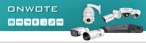 onwote  【Expandable 8CH, Audio】 ONWOTE 1080P Wireless WiFi Security Camera System Outdoor, 8 Channel NVR, (4) 1080P 2.0MP IP Security Surveillance Cameras for Home, One-Way Audio, 80ft IR, No Hard Drive f63b679e 57cc 4508 a897 d46a07e00698