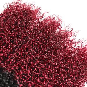 curly hair extension bundles
