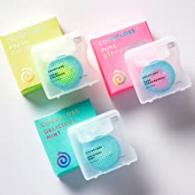 Cocofloss containers