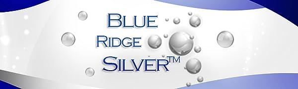 blue ridge silver colloidal silver 10 ppm logo