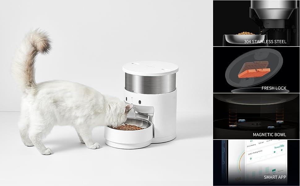 Automatic Cat Feeder Pet Feeder Food Dispenser for Cat