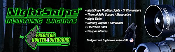 NightSnipe Hunting Lights