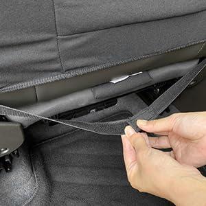 Elastic Straps Under Seat