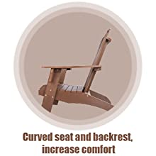 Curved seat