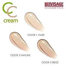 Luxvisage, Cosmetics, Makeup, CC Cream, Foundation, Skin Care, Face Cream