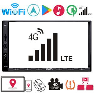 [10in QLED] ATOTO S8 Ultra S8G2108U,Navegación de Video de Android Integrado para salpicadero,BT Dual con aptX HD,Inalámbrico de Enlace ...