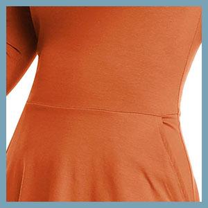 velvet dress with pocket