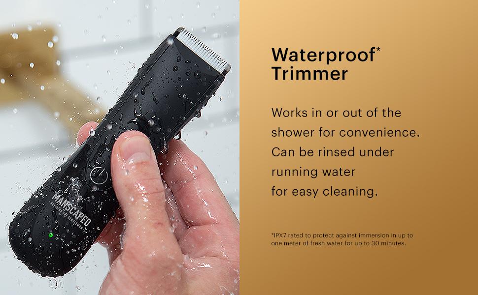 waterproof razor trimmer