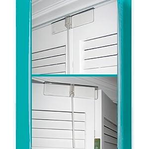 KidCo Bi-fold Door Lock Easy Installation Simple Design Resist Pulling and Pushing