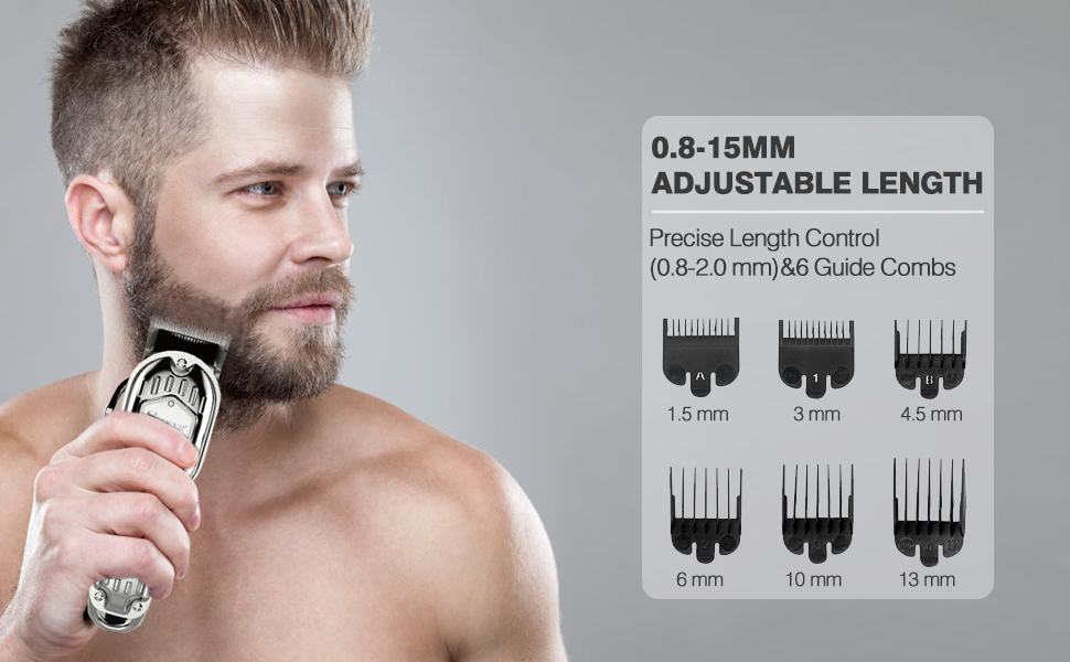 SIX GUIDE COMBS