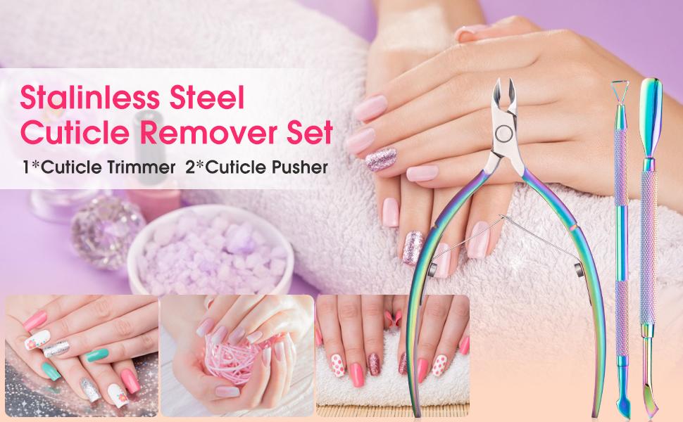 Cuticle remover set